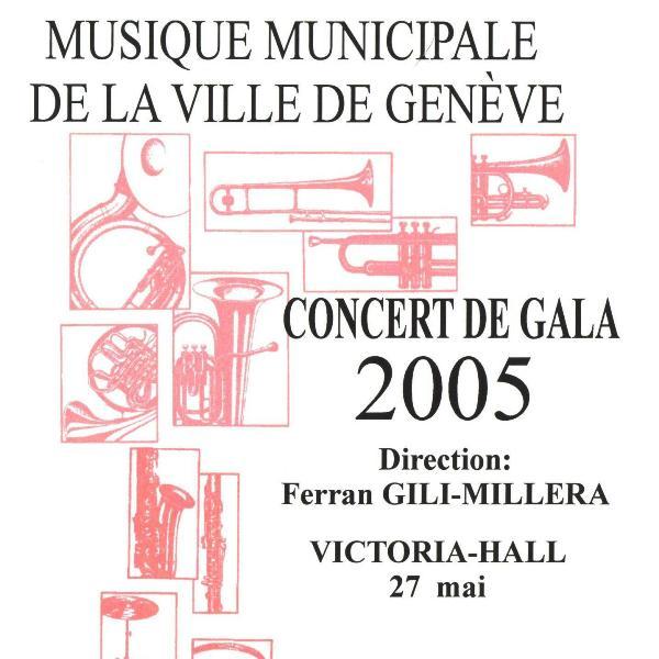 Concert de gala 2005 musique municipale de la ville de for Musique piscine